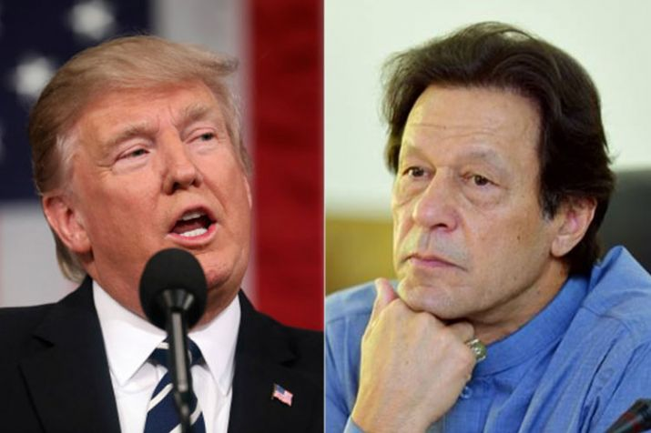 The development came weeks after Trump said Pakistan does