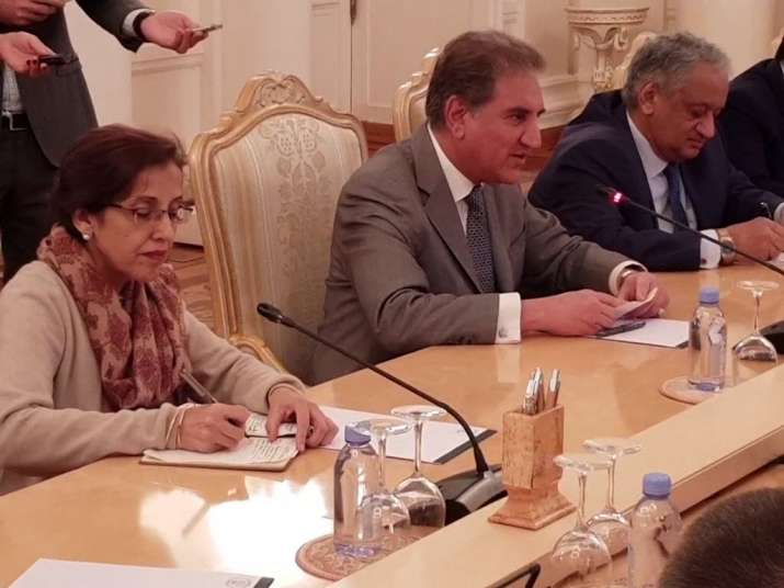 Pak FM in Russia: Qureshi discusses Afghan peace process