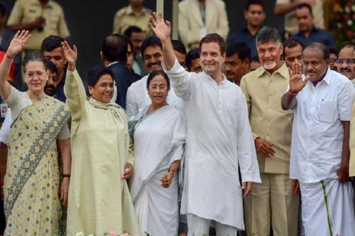 Congress chief Rahul Gandhi and United Progressive Alliance