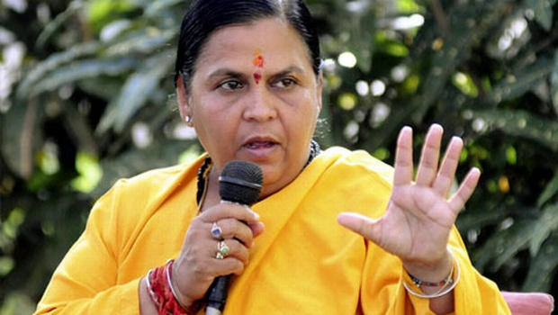 Uma Bharti, MP Polls 2018