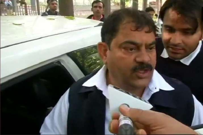 "Speaking to ANI, Sharma said; ""Robert Vadra is being"