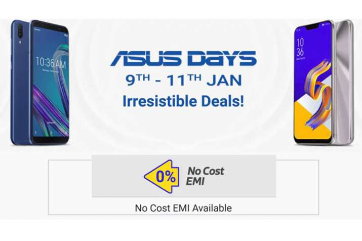 Asus Days Sale starts from 9 to 11 January on Zenfone 5Z, Zenfone Max Pro M1 and more