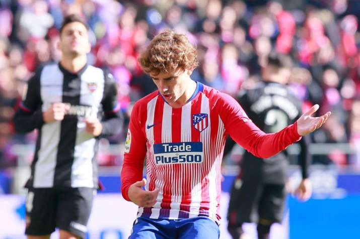 La Liga: Antoine Griezmann scores to keep Atletico Madrid in hunt with Barcelona