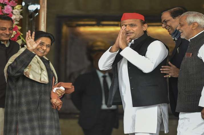 Both SP and BSP on Saturday had announced an alliance in