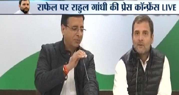Rahul Gandhi press conference rafale deal