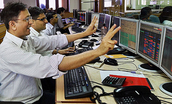 The fall was led by L&T, IndusInd Bank, PowerGrid, NTPC,