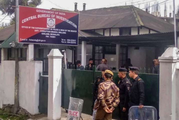 CBI questioning is being held at agency's Shillong office