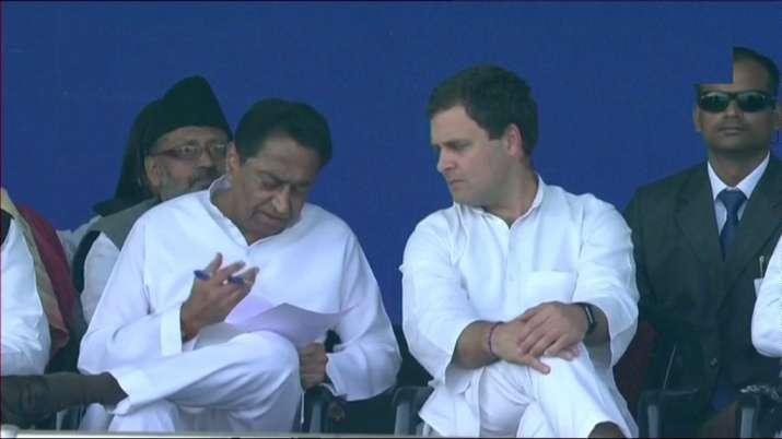 Rahul Gandhi at Gandhi Maidan in Patna