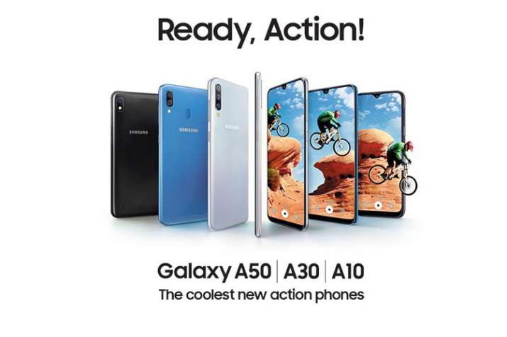 Samsung announces three new smartphones under the Galaxy 'A' series