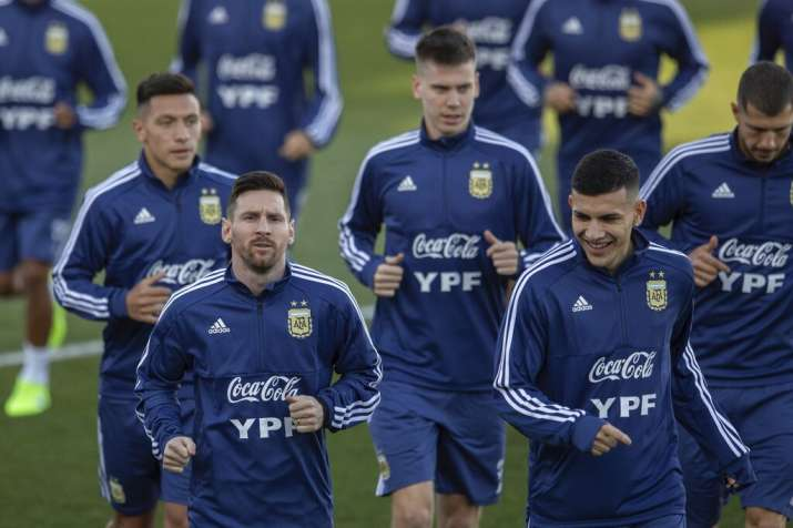 Argentina coach wants teammates to step up as Messi returns