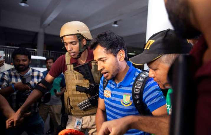 Bangladesh players return home from New Zealand