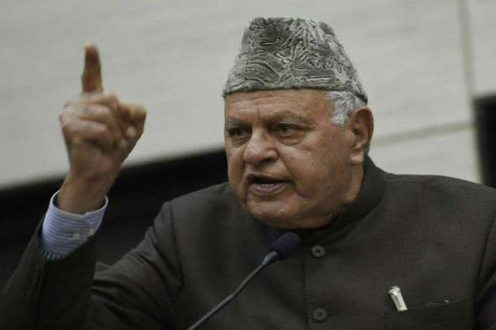 National Conference president Farooq Abdullah- File Photo