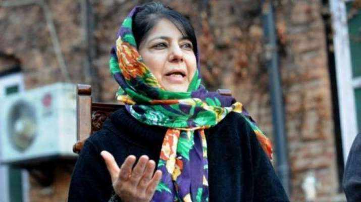 Former Jammu and Kashmir chief minister and PDP chief Mehbooba Mufti