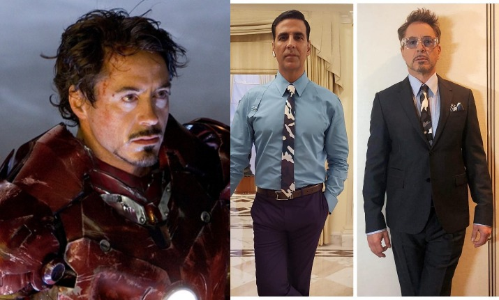 Akshay Kumar points out Robert Downey Jr aka Iron Man