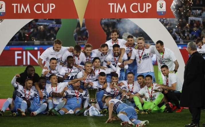 Milinkovic-Savic leaves it late as Lazio clinch Italian Cup