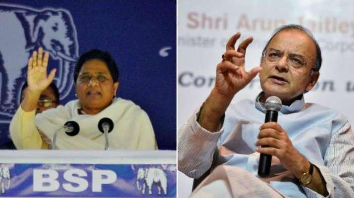 Mayawati and Arun Jaitley