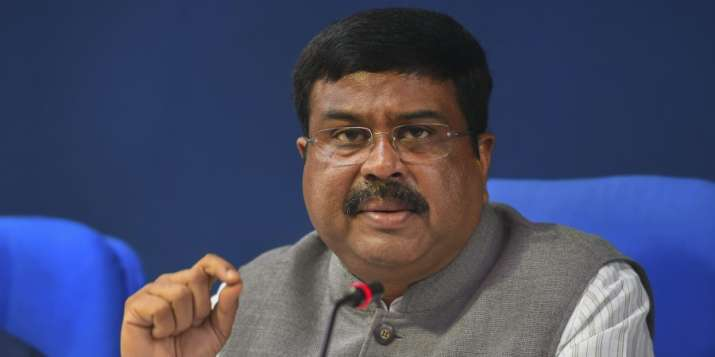 Minister of Petroleum and Steel Dharmendra Pradhan