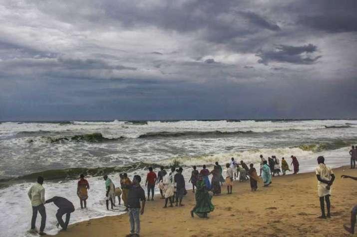 Cyclone Fani hits coastal Odisha