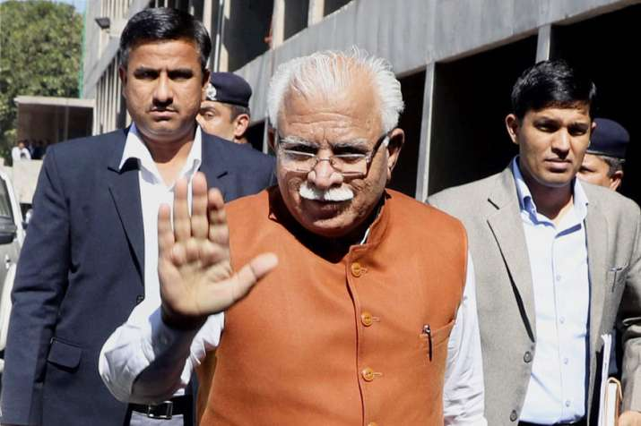 Chief Minister of Haryana Manohar Lal Khattar