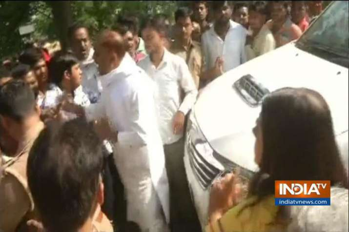 Violence in Sultanpur