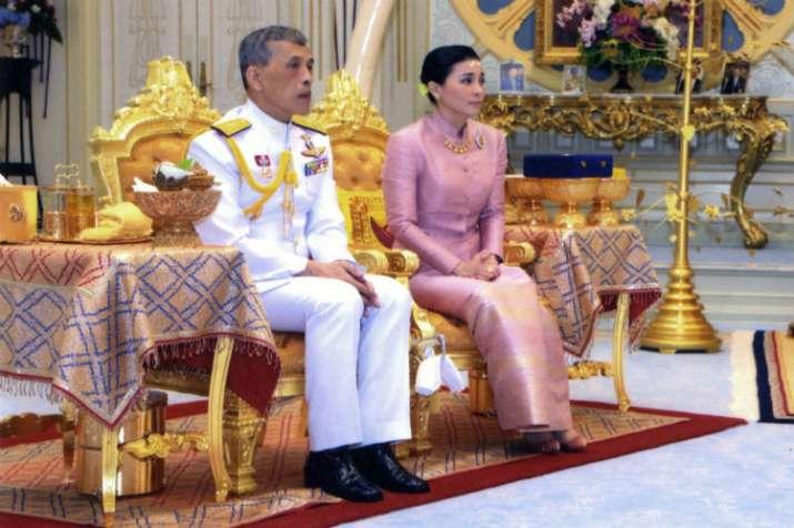 Queen Suthida, Maha Vajiralongkorn, Thailand King