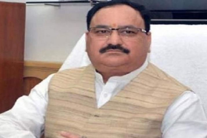 BJP's working President, J.P. Nadda