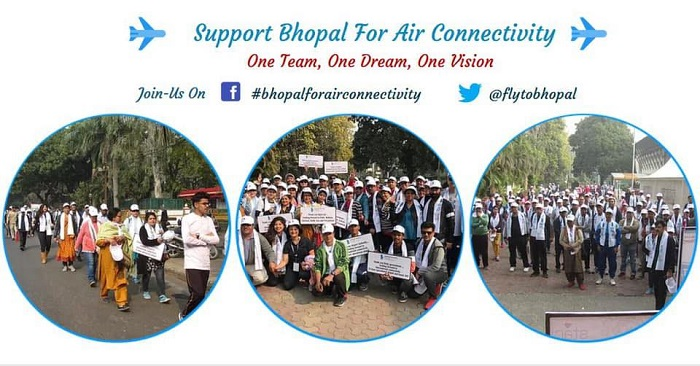 Facebook group demands better air connectivity for Bhopal