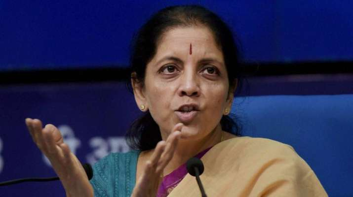 Finance Minister Nirmala Sithraman