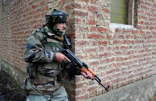 Security forces kill terrorist in gunfight in Sopore