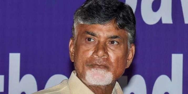 Former CM of Andhra Pradesh, N. Chandrababu Naidu