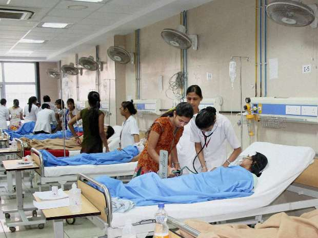 Seventy five district hospitals will be converted into
