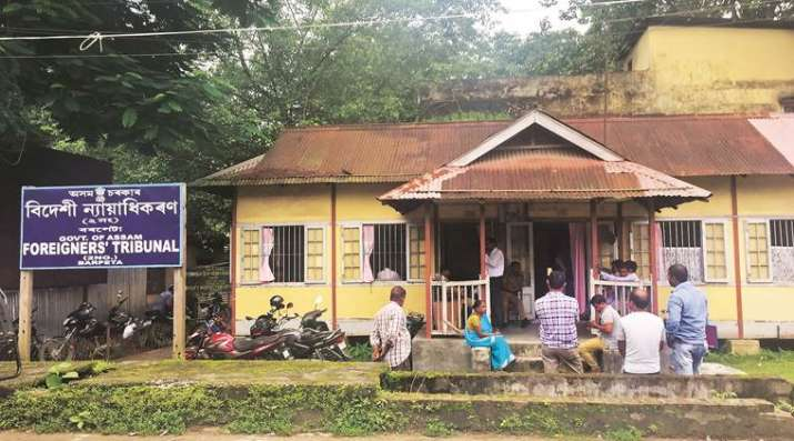 A Foreigners' Tribunal in Barpeta