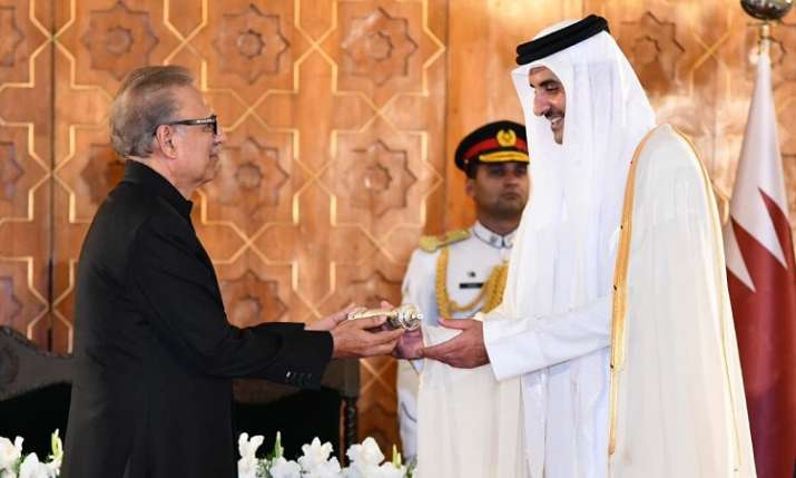 Emir Sheikh Tamim bin Hamad was conferred with