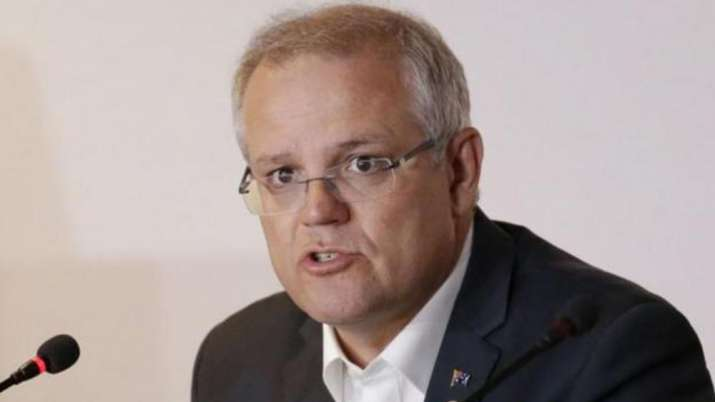 "Scott Morrison said that ""no one is above the law"" in"