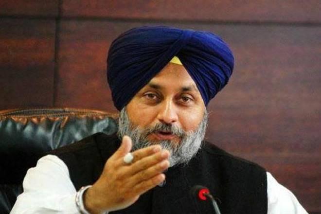 Shiromani Akali Dal president Sukhbir Singh Badal