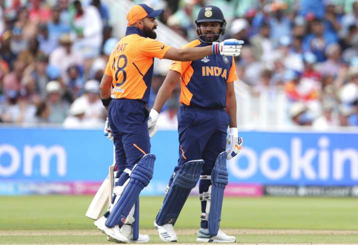 Virat Kohli Rohit Sharma India vs England 2019 World Cup