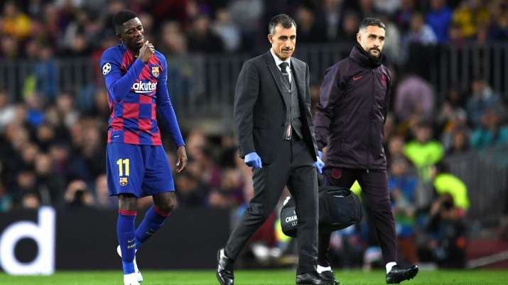 La Liga: Hamstring injury sidelines FC Barcelona's Ousmane Dembele for rest of 2019