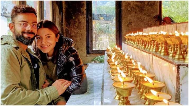 Anushka Sharma wishes 'blessing' Virat Kohli on his birthday with an adorable post
