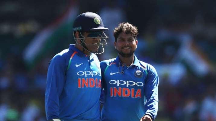 kuldeep yadav, ms dhoni, ms dhoni india, ms dhoni team india, ms dhoni comeback