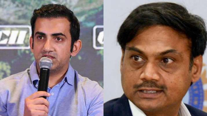 Chairman of selectors needs to be an experienced cricketer: Gautam Gambhir engaged in debate with MS