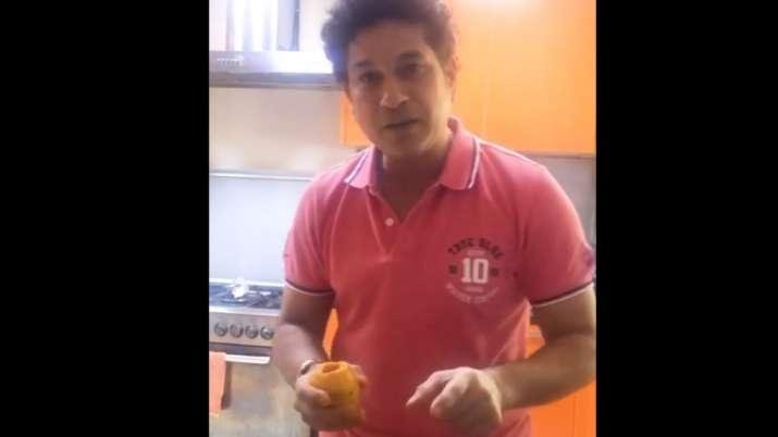 Sachin Tendulkar makes mango kulfi on his 25th marriage anniversary with mother's guidance