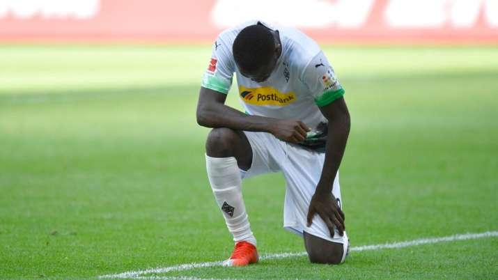 marcus thuram, marcus thuram tribute, george floyd, Borussia Monchengladbach, bundesliga