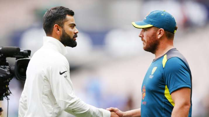 Aaron Finch reacts to Michael Clarke's claims of Australia sucking-up to Virat Kohli