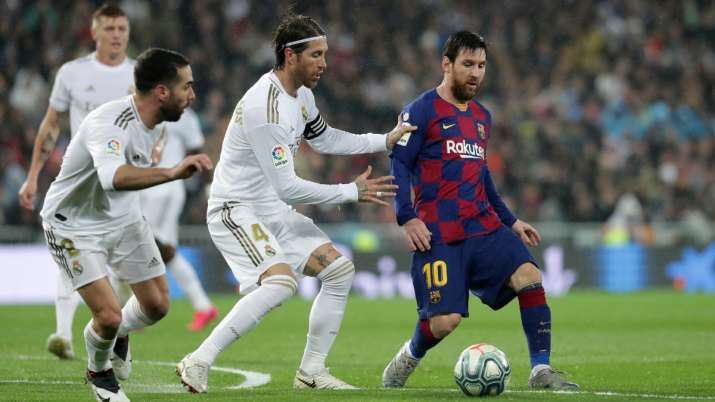 Race for La Liga title resumes with 'flawed' Barcelona and 'inconsistent' Real Madrid up for grasp