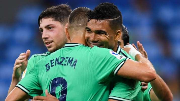 La Liga: Karim Benzema's brilliance helps Real Madrid go 2 points clear of Barcelona