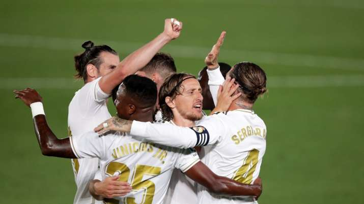 La Liga: Real Madrid back in front after 2-0 win over Mallorca