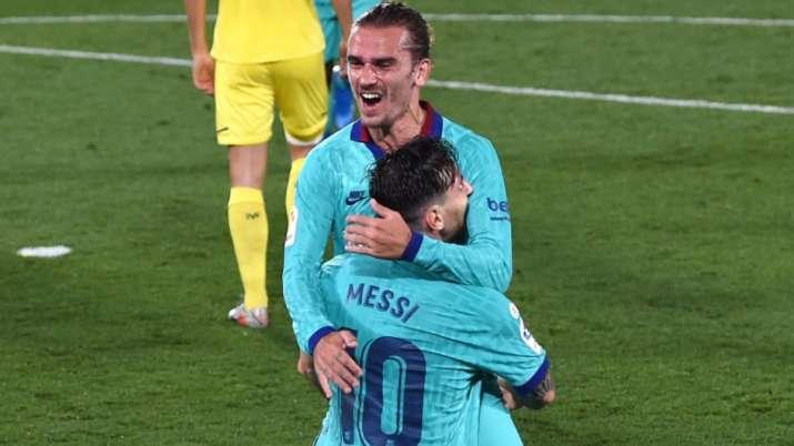 La Liga: Lionel Messi sets up goals for Suarez, Griezmann in Barcelona's 4-1 win over Villarreal