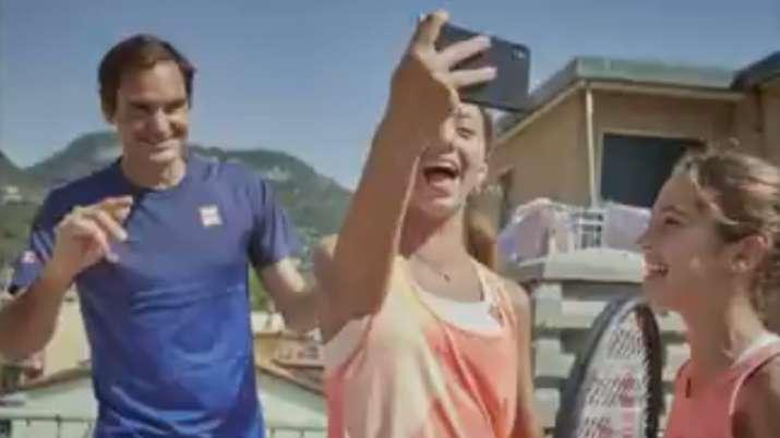 roger federer, roger federer surprise, rooftop tennis