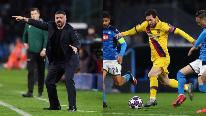 Can mark Lionel Messi only in my dreams: Napoli manager Gennaro Gattuso