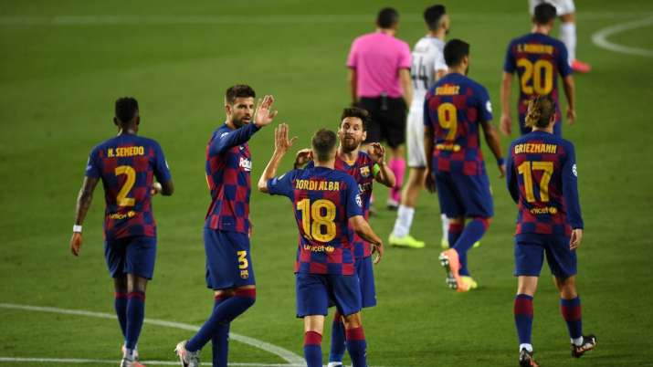 Champions League: Lionel Messi's 'special' guides Barcelona to quarterfinals with win over Napoli